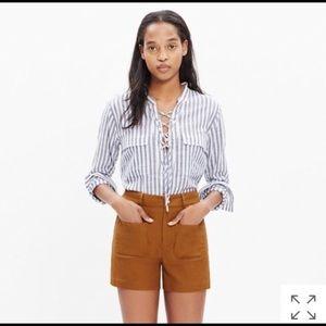 Madewell Monroe High Rise Shorts
